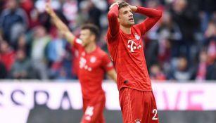 Thomas Müller lamenta una falla en Alemania