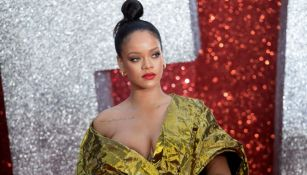 Rihanna posa en un evento en junio de 2018
