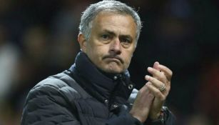 José Mourinho, en un partido