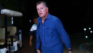 Ricardo Peláez Linares llegando al Draft 2019