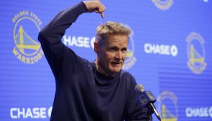 Steve Kerr en conferencia de prensa