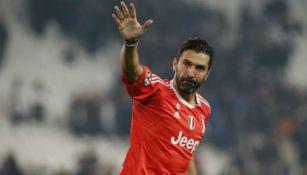 Buffon, en un partido de Juventus