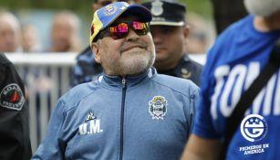 Maradona previó al juego ante Unión
