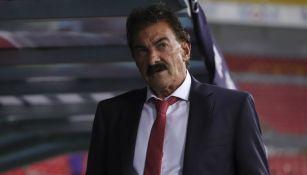 Ricardo La Volpe durante un juego del Toluca