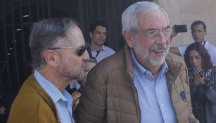 Enrique Graue, rector de la UNAM, en el juego entre Pumas y Juárez