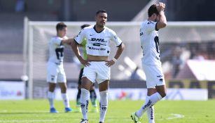 Pablo Barrera se lamenta tras empate contra Juárez