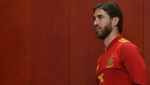 Sergio Ramos, el jugador que más veces ha vestido la Roja