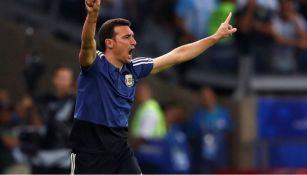 El seleccionador de Argentina Lionel Scaloni