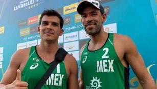 Juan Virgen y Lombardo Ontiveros tras su victoria