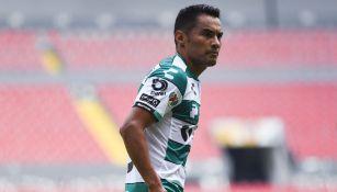 José Juan Vázquez, en un juego con Santos Laguna
