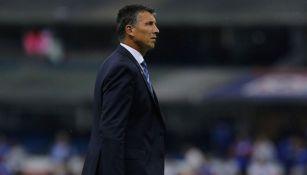 Robert Dante Siboldi en el juego entre Cruz Azul y San Luis