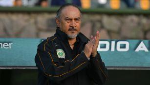 Raúl Gutiérrez en el partido entre Potros UAEM y Tampico