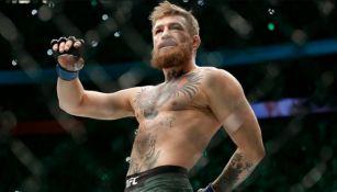 Conor McGregor en la jaula