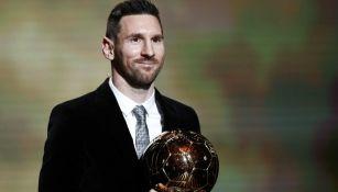 Messi, ganador de su sexto Balón de Oro
