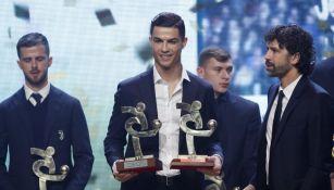 Cristiano, con premio de la Serie A