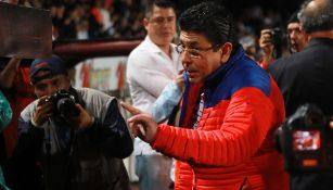 Kuri, previo a un juego de Veracruz