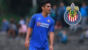 José Madueña durante un partido del Cruz Azul
