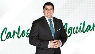Carlos Aguilar, en presentación con TUDN