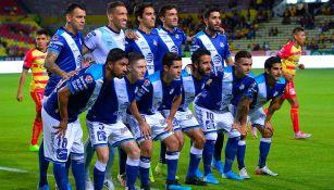 El conjunto de La Franja durante el Apertura 2019