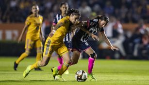 Tigres Femenil vs Rayadas en Final de Ida