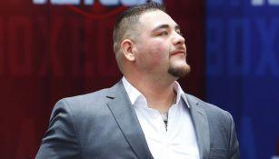 Andy Ruiz, en un evento deportivo