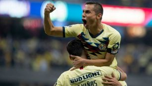 Aguilar, en festejo contra Morelia