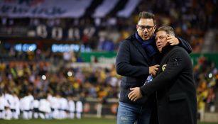 Mohamed y Herrera, grandes amigos desde los noventa