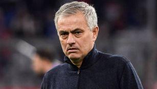 Mourinho, en el juego entre Tottenham y Bayern