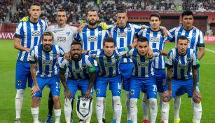 El once de Monterrey que se midió al Liverpool