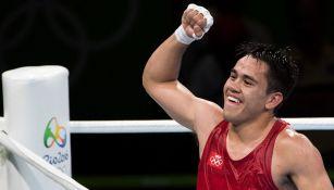 Misael Rodríguez tras ganar una pelea en Río 2016