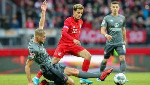 Coutinho, en un partido del Bayern Munich