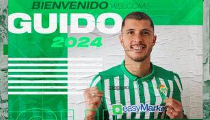 Real Betis presentó a Guido Rodríguez