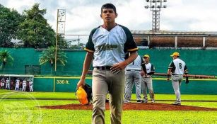 Pedro Reyes, lanzador que fue fichado por Philadelphia Phillies