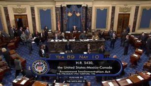 El Senado de Estados Unidos aprobó el T-MEC
