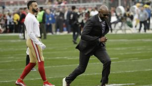 Jerry Rice en carrera en el Levi's Stadium