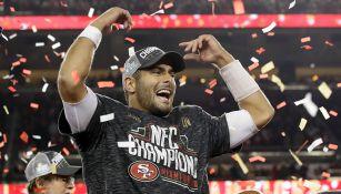 Garoppolo estará en su primer Super Bowl como QB titular