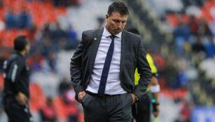 Siboldi se lamenta tras derrota del Cruz Azul