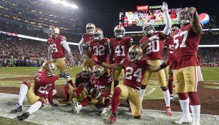 49ers en celebración