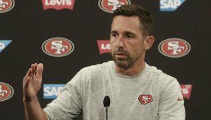 Kyle Shanahan, habla sobre su equipo en conferencia de prensa