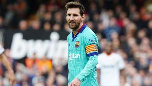 Lionel Messi confrontó a Eric Abidal