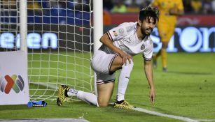 Oribe Peralta tras fallar una oportunidad ante Tigres