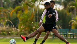 Jugadores del Inter Miami en un entrenamiento