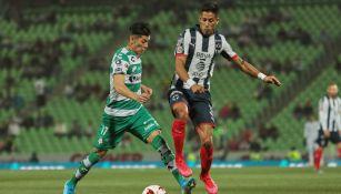 Santos y Rayados empataron sin goles en la Copa MX