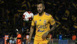El Diente en su debut contra el San Luis