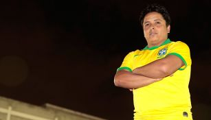 Edson Herrera posa para la lente de RÉCORD