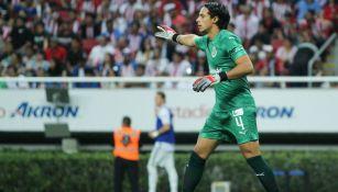 Toño Rodríguez durante un partido de Chivas