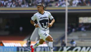 Ignacio Malcorra durante un partido con Pumas
