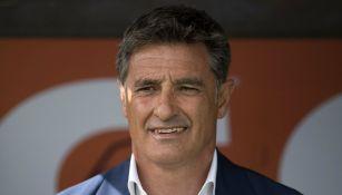 Míchel González, técnico de Pumas