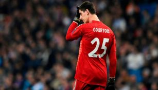 Thibaut Courtois, durante un juego del Real Madrid