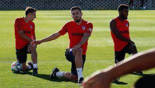 Héctor Herrera no jugaría en el Atlético de Madrid vs Liverpool